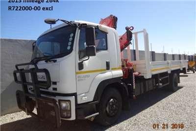Isuzu Truck Crane Truck FTR850 with Fassi F1700 crane 2013