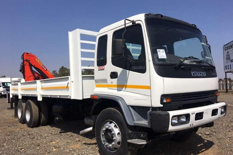 Isuzu Truck Crane Truck FVZ1400 Dropside + Palfinger PK 15500 Crane 2005