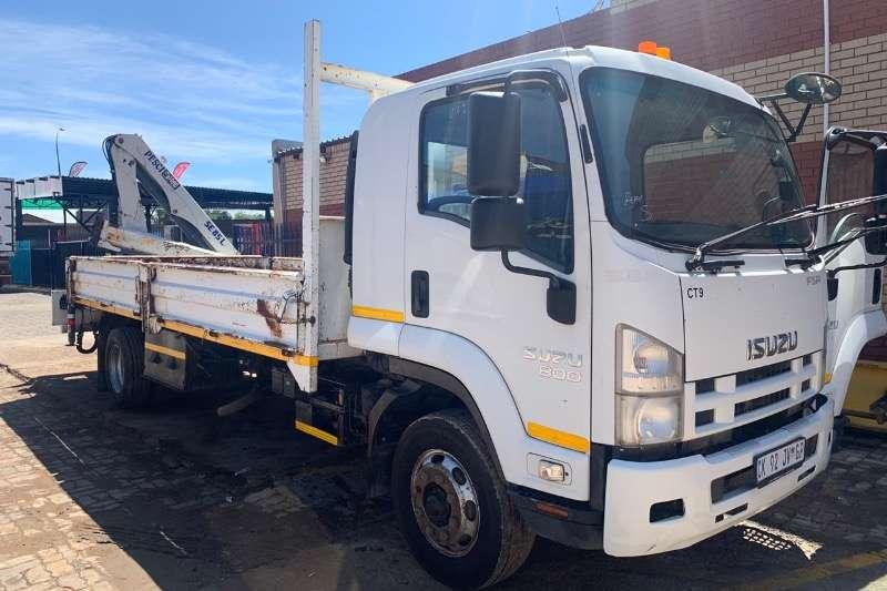 Isuzu Truck Crane truck Isuzu 800 with crane 2013