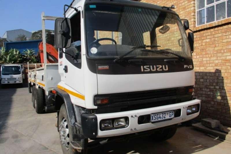 Isuzu Truck Crane truck ISUZU FVZ 1400 DROPSIDE WITH HYDRAULIC CRANE