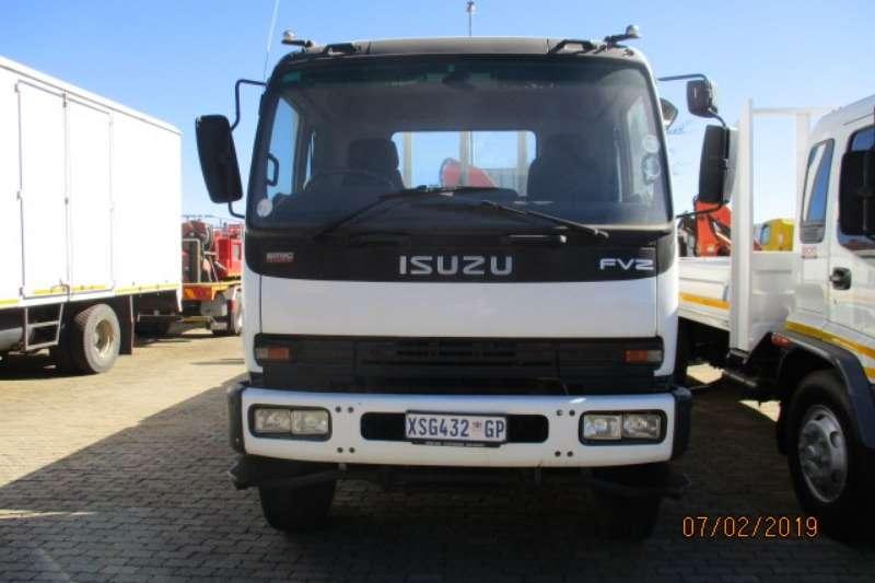 Isuzu Truck Crane Truck ISUZU FVZ1400 DROPSIDE WITH PK18500 CRANE REAR 2008