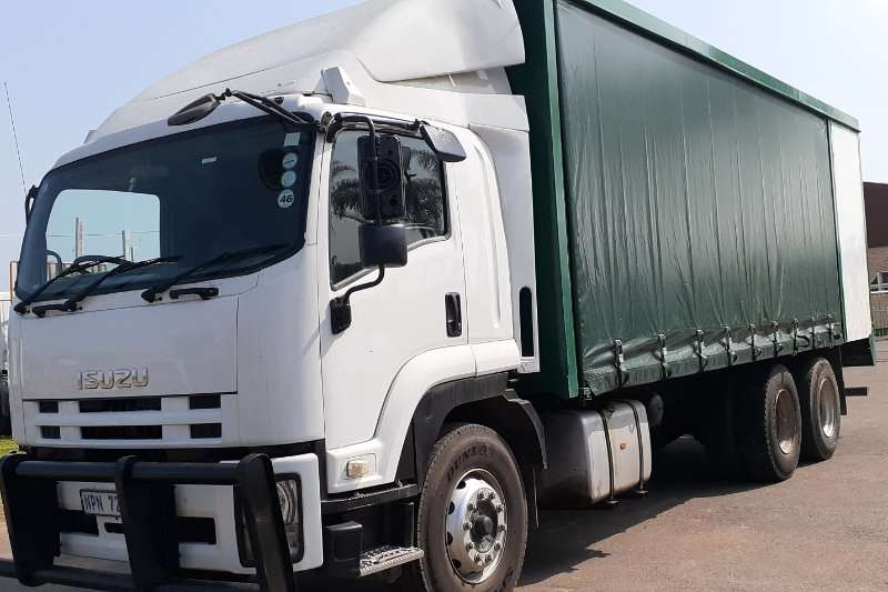 Isuzu Truck Curtain side 2011 ISUZU FVZ1400 TAUTLINER 2011