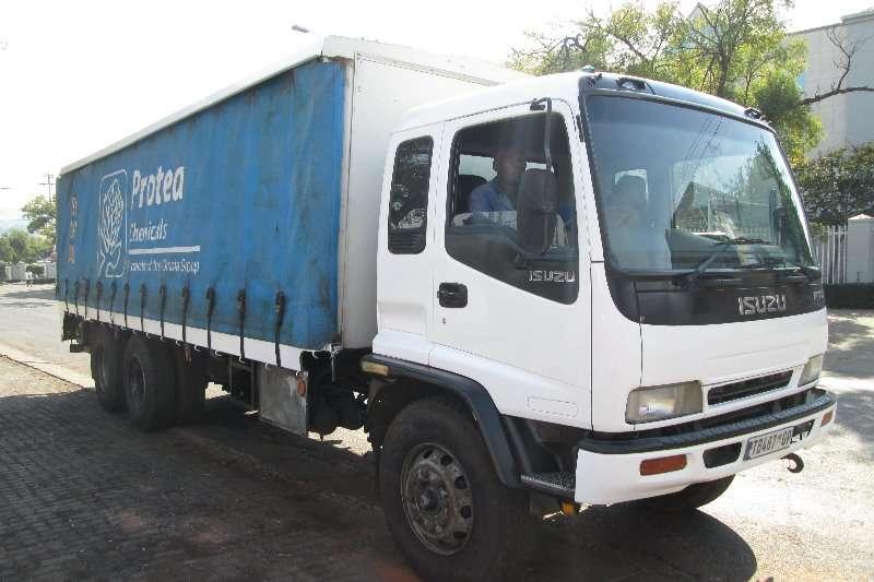 Isuzu Truck Curtain side FTM1200 2006