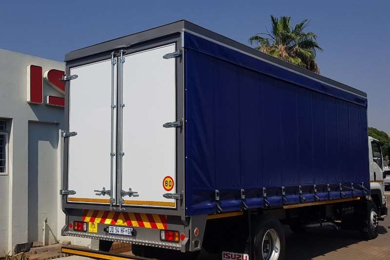Isuzu Truck Curtain side FTR 850 Manual 2019