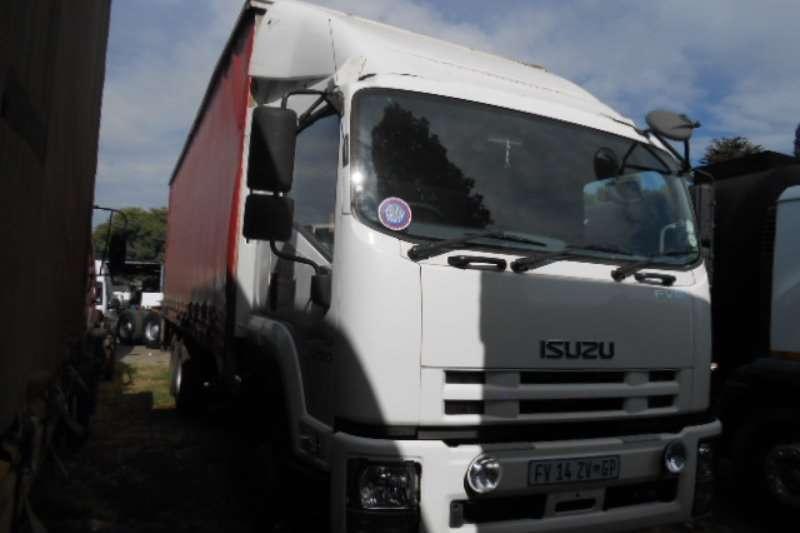 Isuzu Truck Curtain side FVM1200 2012