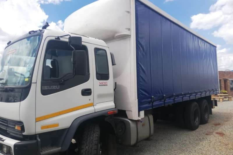 Isuzu Truck Curtain side FVZ1400 2010
