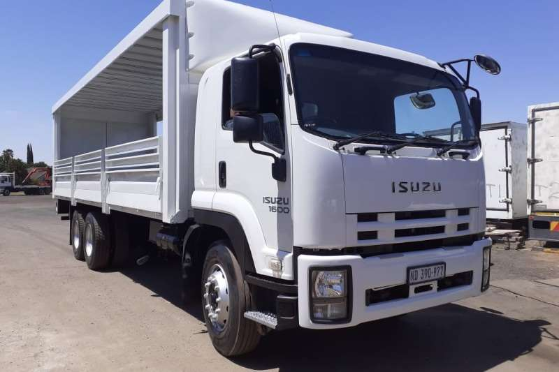 Isuzu Truck Curtain side ISUZU FVZ 1600 CURTAIN DROPSIDE 2015