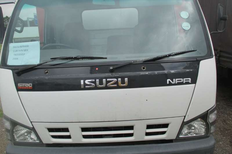Isuzu Truck Curtain side ISUZU NPR 400 CurtainSide 2006