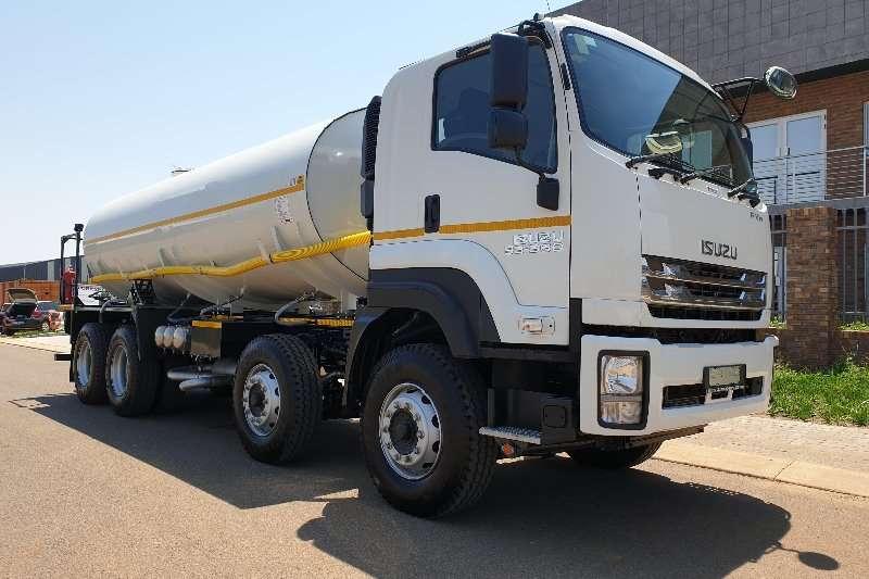 Isuzu Truck Diesel tanker FYH 33 360 Tipper Chassis 2020