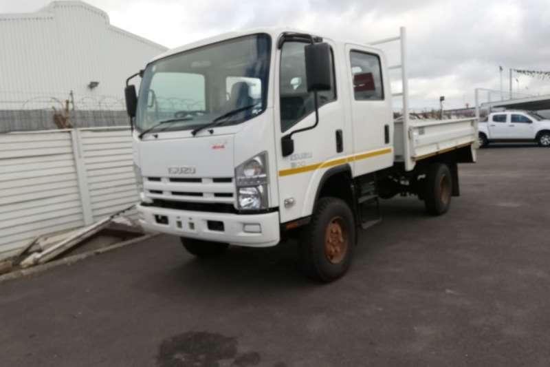 Isuzu Truck Dropside 2019 NPS 4x4 Freighter Crew Cab SWA Dropside Body 2019