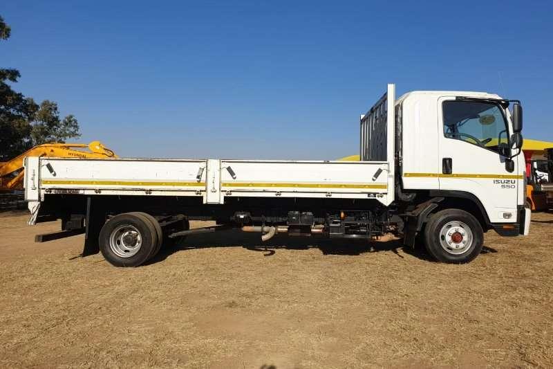 Isuzu Truck Dropside FRR 550 Manual with 6m Dropside Body 2016