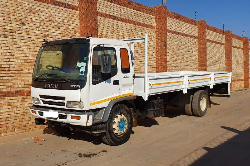 Isuzu Truck Dropside FTR800,8 TONNER WITH DROPSIDE BODY,1 COMPANY OWNED 2008