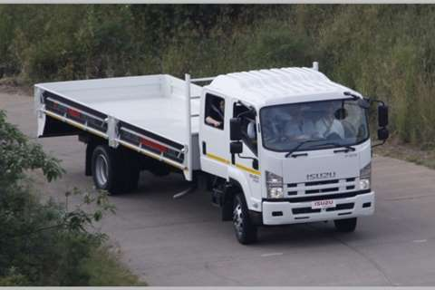 Isuzu Truck Dropside NEW FSR 750 Crew Cab AMT 2019