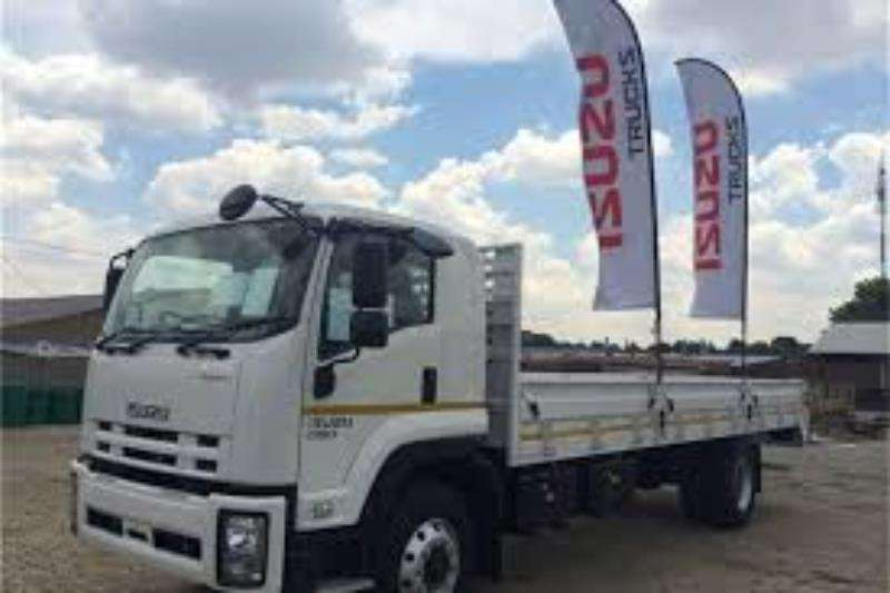 Isuzu Truck Dropside NEW FTR 850 water tan 2019