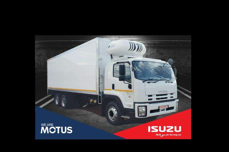 Isuzu Truck Fridge truck FVZ 1400 Man Demo Meat Hanger 2019