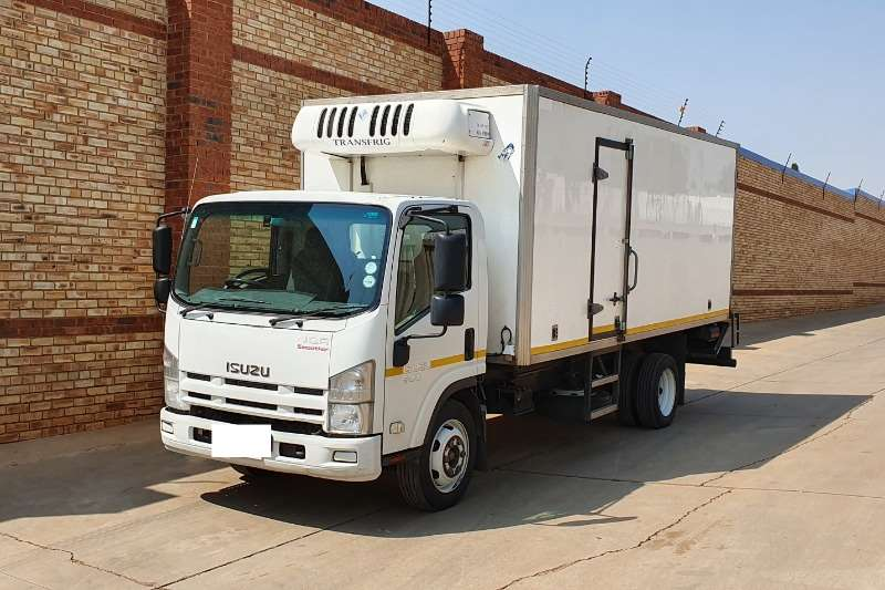 Isuzu Truck Fridge truck NQR 500,AMT,WITH TRANSFRID KV760 COOLER UNIT 2012