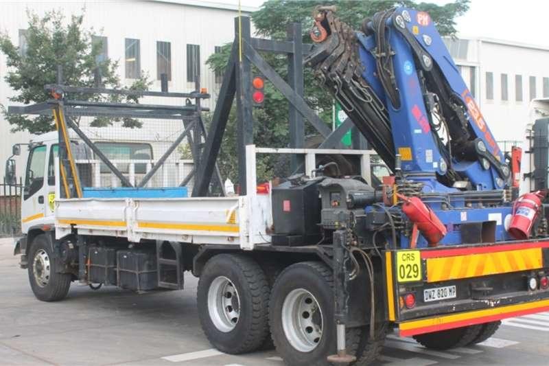 Isuzu Truck FTM1200 Dropside Crane Truck 2008