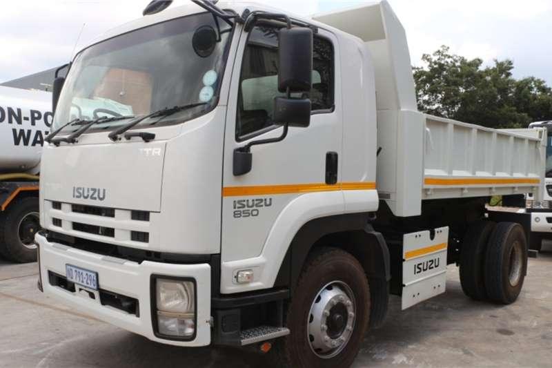 Isuzu Truck FTR850 6m3 Dropside Tipper 2016