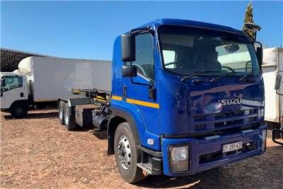 Isuzu Truck Hooklift FVZ 1400 F/C 14 Ton Hooklift 2011