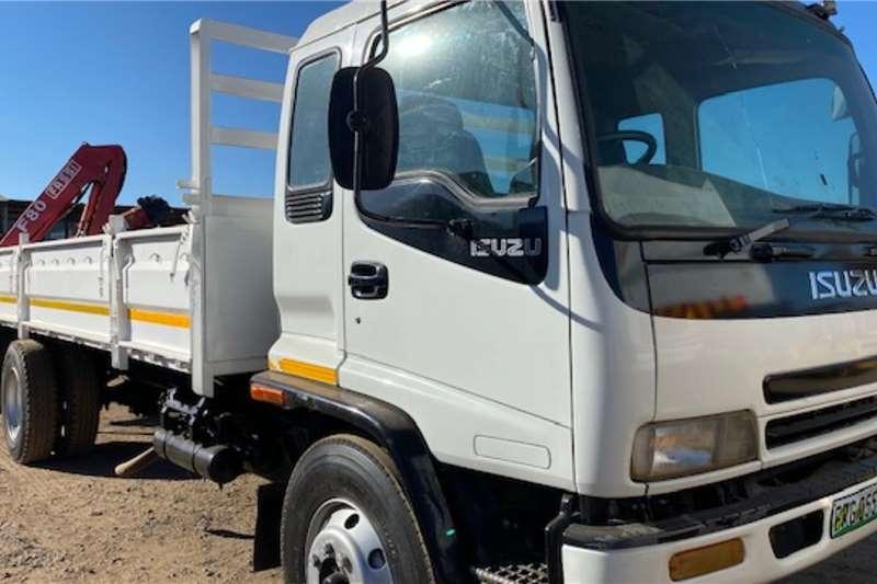 Isuzu Truck Isuzu FTR800 Dropsides with Fassi Crane 2006