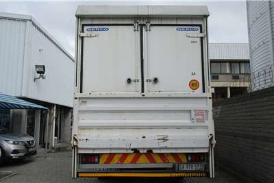 Isuzu Lowbed FTR850AMT with 7.2m Dry Freight Body with TailLift Truck