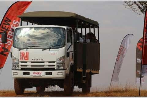 Isuzu Truck NEW NPS 300 4x4 SWA 2020