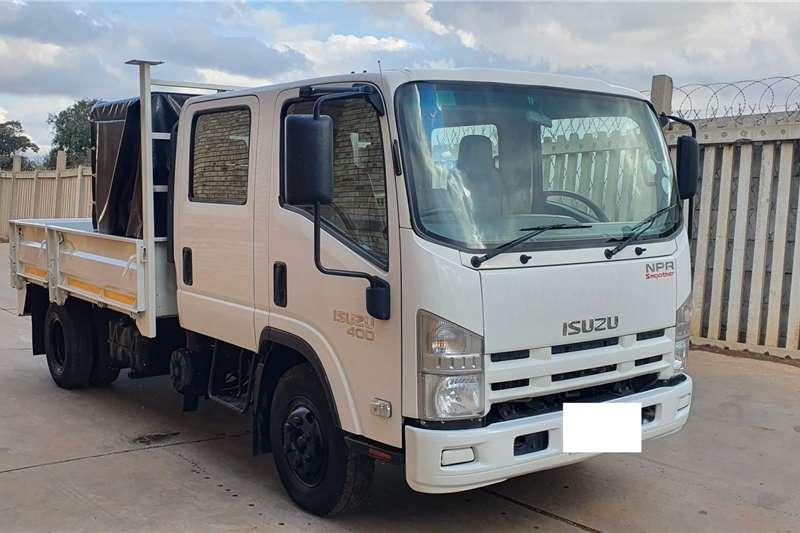 Isuzu Truck NPR400 AMT,DOUBLE CAB DROPSIDE,A/C ONE COMPANY 2013