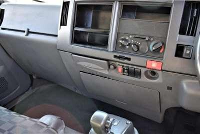Isuzu NPR400 AutoIsolated Body Truck
