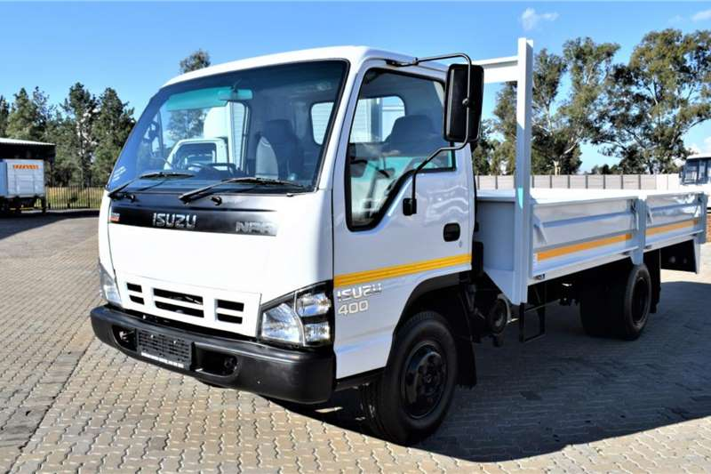 Isuzu NPR400 Drop side Truck