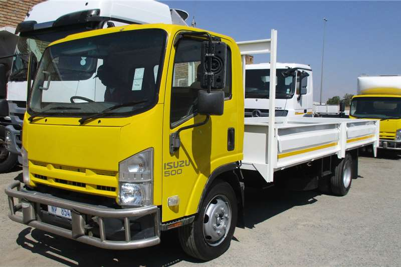 Isuzu Truck NQR500 Drop side Body 2011