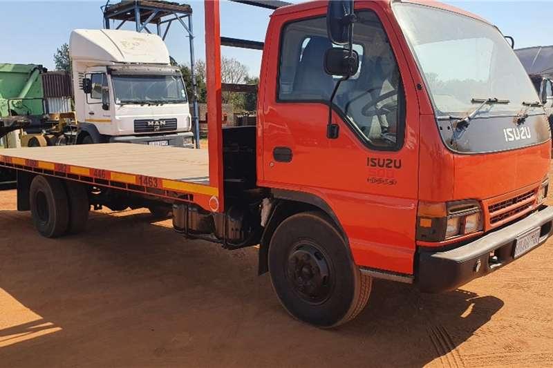 Isuzu NRQ500 Freighter Turbo (5t) Flatdeck Truck