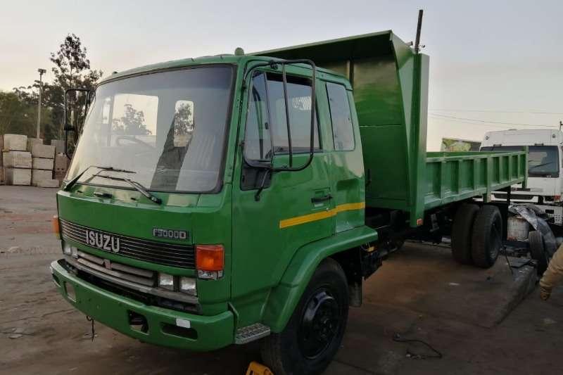 Isuzu Truck Tipper F8000 1992