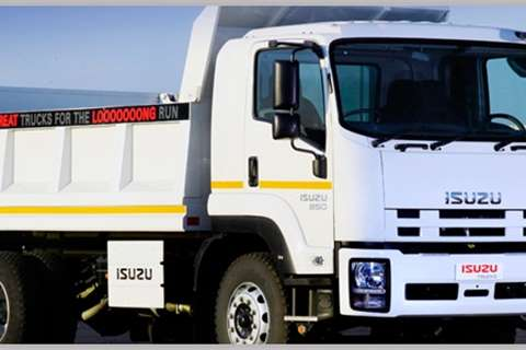 Isuzu Truck Tipper NEW FTR 850 Tipper 2019