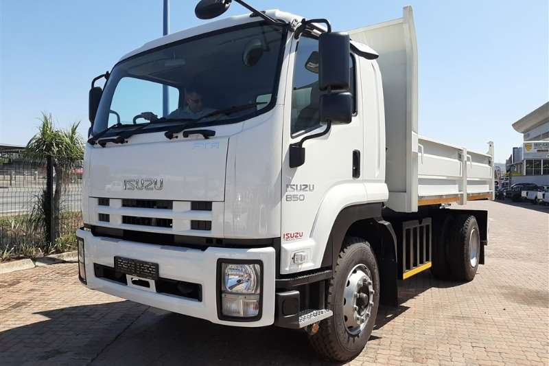 Isuzu Truck Tipping body FTR 850 DROPSIDE TIPPER 2019