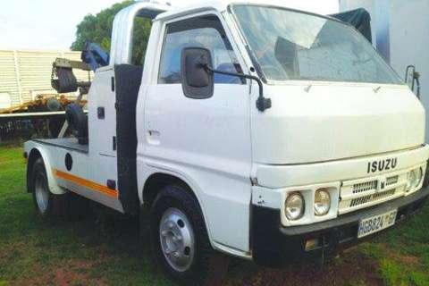 Isuzu Truck TLD 3 Ton Sling Back Breakdown-