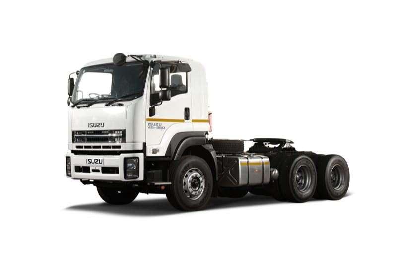 Isuzu Truck tractors Double axle GXZ 45 360 ( Retarder) 6x4 TT 2020