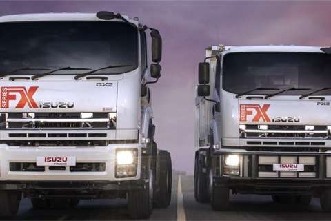 Isuzu Truck tractors NEW GXZ 45 360 Truck Tractor 2020