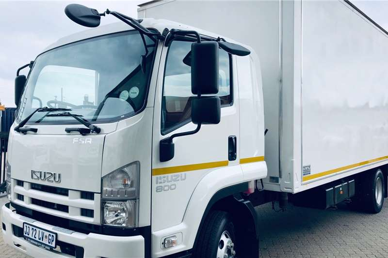 Isuzu Truck Van body FSR 800 Manual 2019