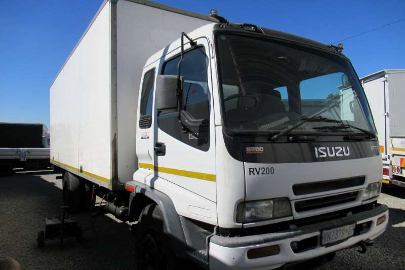 Isuzu Truck Van body FTR800 with Tail lift 2006