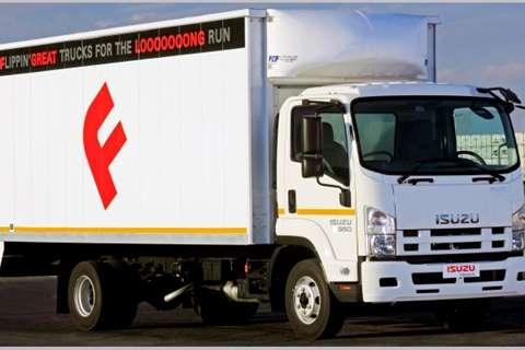 Isuzu Truck Van body NEW FRR 550 2019