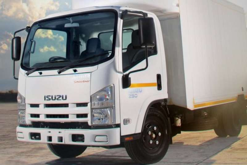 Isuzu Truck Van body NPR 275 AMT 2020