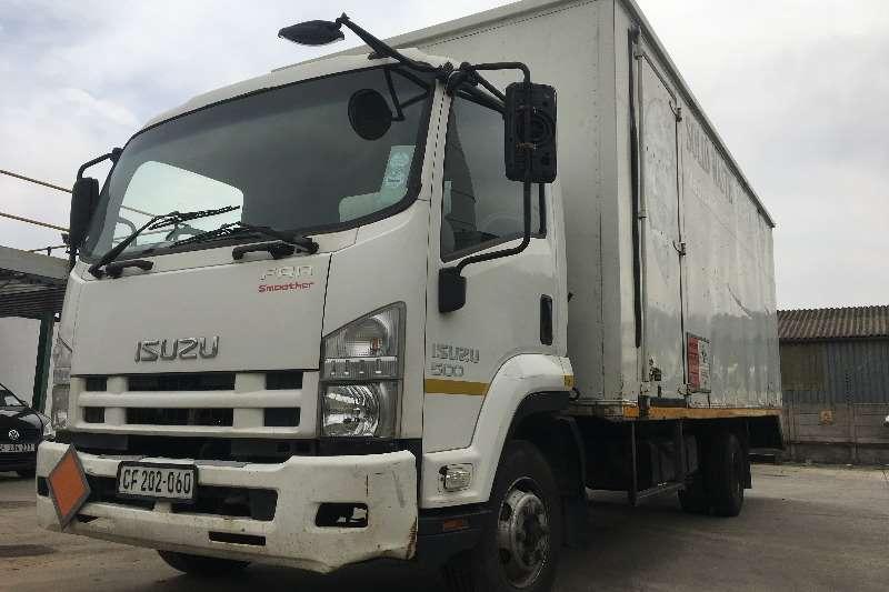 Isuzu Truck Volume body FRR500 Volume Van (Automatic gearbox) 2012