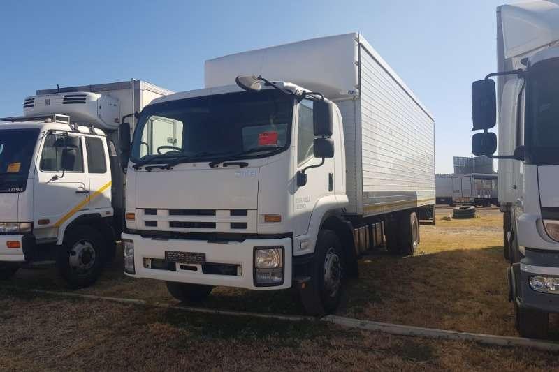Isuzu Truck Volume body FTR850 (With Tail Lift) 2013