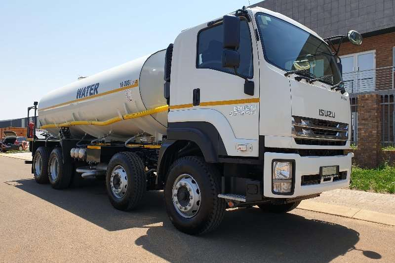 Isuzu Water bowser trucks FYH 33 360 Tipper Chassis 2020