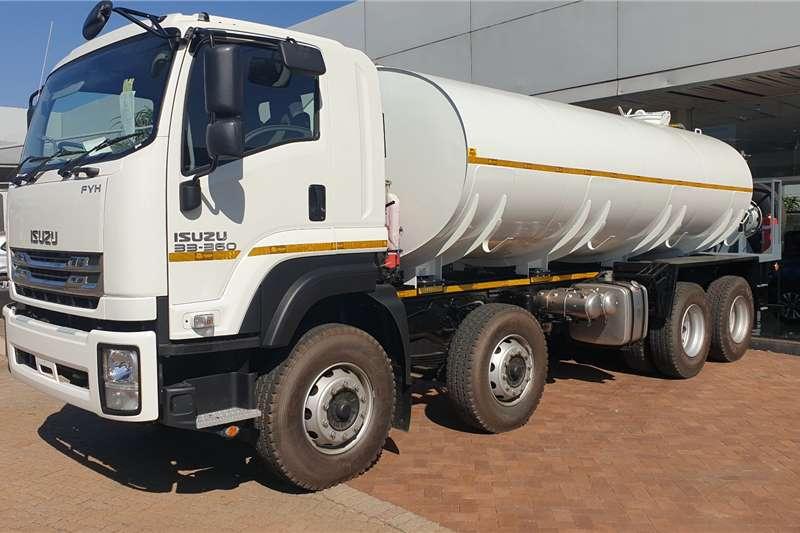 Isuzu Water bowser trucks Isuzu FYH 33 360 Water Tanker 2020