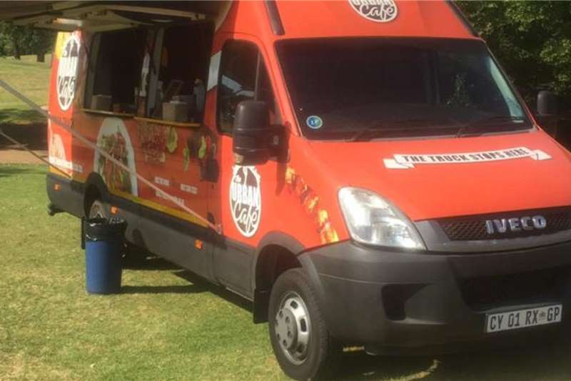 Iveco Food mobile van, fully equipped Box trucks