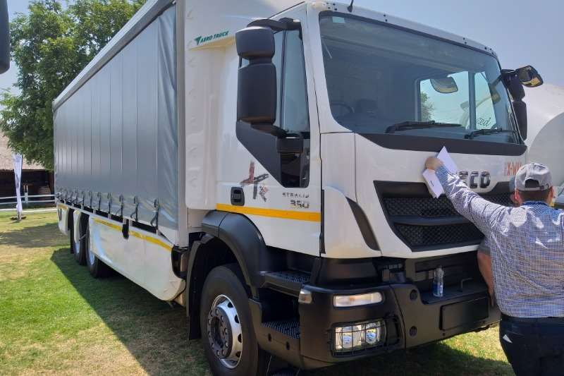 Iveco Chassis cab trucks New Range Iveco Stralis X Way chassis cab & Tautli 2020