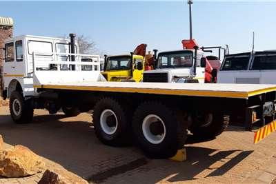 Iveco MAN 6x6 Flat Deck Flatbed trucks