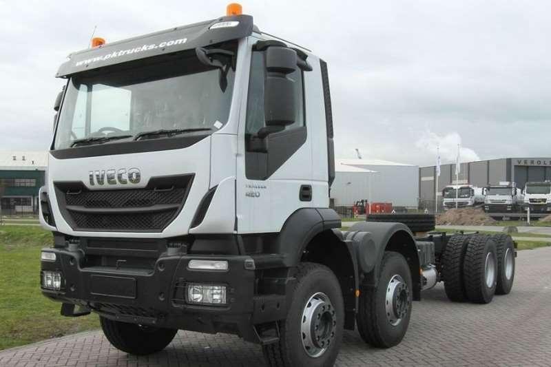 2019 Iveco  Iveco Trakker 410 8x4