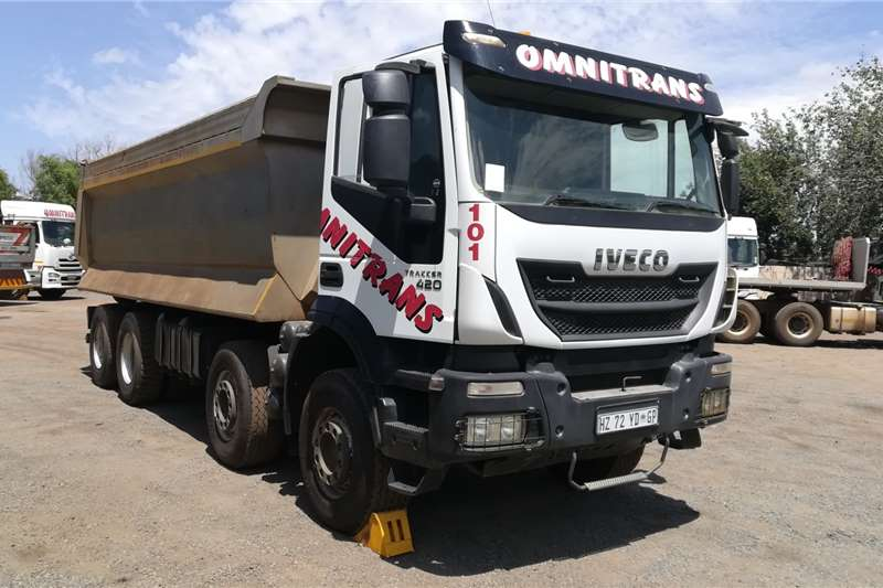 Iveco Tipper trucks 2015 Iveco 420 8x4 Tippers 2015
